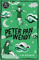 Cover for Peter Pan and Wendy by J. M. Barrie