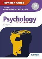 Cover for Cambridge International AS/A Level Psychology Revision Guide 2nd edition by David Clarke
