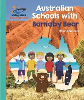 Cover for Reading Planet - Australian Schools with Barnaby Bear - Turquoise: Galaxy by Helen Chapman