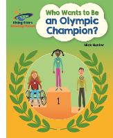 Cover for Reading Planet - Who Wants to be an Olympic Champion? - White: Galaxy by Nick Hunter