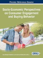 Cover for Socio-Economic Perspectives on Consumer Engagement and Buying Behavior by Hans Ruediger Kaufmann