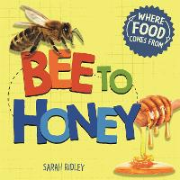 Cover for Where Food Comes From: Bee to Honey by Sarah Ridley
