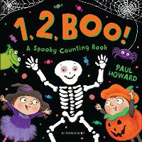 Cover for 1, 2, BOO! A Spooky Counting Book by Paul Howard