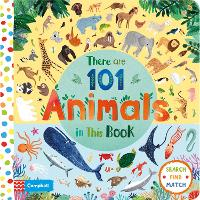 Cover for There Are 101 Animals in This Book by Campbell Books