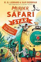 Cover for Murder on the Safari Star by M. G. Leonard, Sam Sedgman