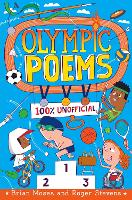 Cover for Olympic Poems 100% Unofficial! by Brian Moses, Roger Stevens