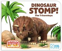 Cover for Dinosaur Stomp! The Triceratops by Peter Curtis, Jeanne Willis
