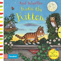 Cover for Katie the Kitten A Push, Pull, Slide Book by Campbell Books