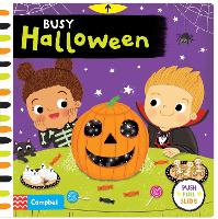 Cover for Busy Halloween by Campbell Books