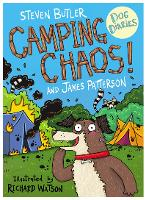 Cover for Dog Diaries: Camping Chaos! by Steven Butler, James Patterson