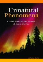 Cover for Unnatural Phenomena  by Jerome Clark
