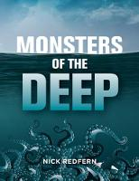 Cover for Monsters Of The Deep by Nick Redfern