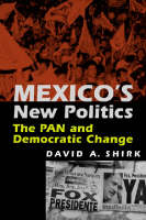 Cover for Mexico's New Politics  by David A. Shirk