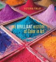 Cover for The Brilliant History of Color in Art by Victoria Finlay