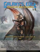Cover for Galaxy's Edge Magazine  by Orson Scott Card, Robert Silverberg, Nancy Kress