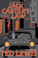 Cover for Jack Carter's Law by Ted Lewis
