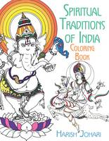 Cover for Spiritual Traditions of India Coloring Book by Harish Johari