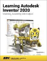 Cover for Learning Autodesk Inventor 2020 by Randy H. Shih