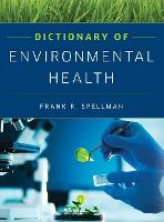 Cover for Dictionary of Environmental Health by Frank R Spellman