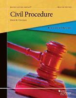 Cover for Black Letter Outline on Civil Procedure by Kevin M. Clermont