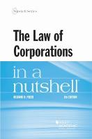 Cover for The Law of Corporations in a Nutshell by Richard D. Freer