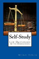 Cover for Self-Study UK Law Dictionary and Legal Letter Writing Exercise Book by Michael Howard