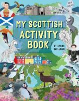 Cover for My Scottish Activity Book by Sasha Morton