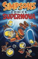 Cover for Simpsons Comics Supernova by Matt Groening