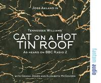 Cover for Cat on a Hot Tin Roof by Tennessee Williams