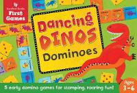 Cover for Dancing Dinos Dominoes by Barefoot Books