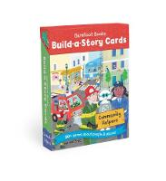 Cover for Build a Story Cards Community Helpers by Barefoot Books