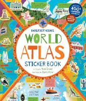 Cover for World Atlas Sticker Book by David Dean