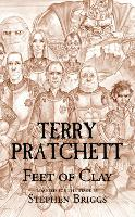 Cover for Feet of Clay by Terry Pratchett, Stephen Briggs