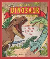 Cover for A Day at the Dinosaur Museum by Tom Adams