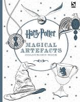 Cover for Harry Potter Magical Artefacts Colouring Book 4 by Warner Brothers