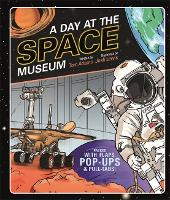 Cover for A Day at the Space Museum by Tom Adams