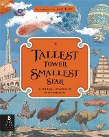 Cover for Tallest Tower, Smallest Star A Pictorial Compendium of Comparisons by Kate Baker