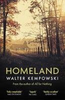 Cover for Homeland by Walter Kempowski