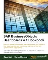 Cover for SAP BusinessObjects Dashboards 4.1 Cookbook by David Lai, Xavier Hacking