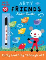 Cover for Arty Friends by Mandy Stanley
