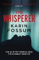 Cover for The Whisperer by Karin Fossum