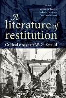Cover for A Literature of Restitution  by Jeannette Baxter