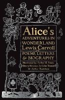 Cover for Alice's Adventures in Wonderland  by Lewis Carroll, Charlie Lovett