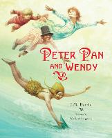 Cover for Peter Pan and Wendy (Picture Hardback) Abridged Edition for Younger Readers by Sir J. M. Barrie