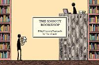 Cover for The Snooty Bookshop Fifty Literary Postcards by Tom Gauld