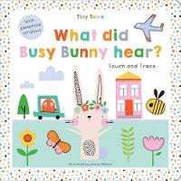 Cover for What did Busy Bunny hear? by Oakley Graham