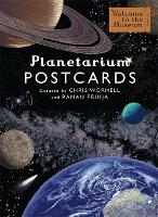 Cover for Planetarium Postcards by Raman Prinja