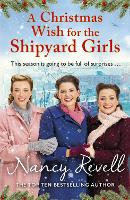 Cover for A Christmas Wish for the Shipyard Girls by Nancy Revell
