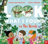 Cover for National Trust: Look What I Found in the Woods by Moira Butterfield