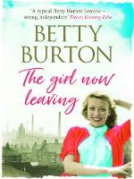 Cover for The Girl Now Leaving by Betty Burton